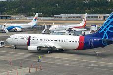 Merugi, Sriwijaya Tutup 6 Rute Penerbangan