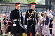Pangeran Harry Kenakan Seragam Militer di Momen Pemberkatan Nikah