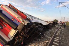 6 Gerbong Kereta di Turki Terguling, 10 Tewas dan 73 Orang Terluka