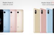 Resmi, Redmi Note 5 dan Note 5 Pro Berkamera Ganda dan Layar 18:9