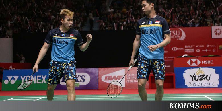 Lewatkan India Open, Marcus/Kevin dkk Fokus ke Malaysia Open