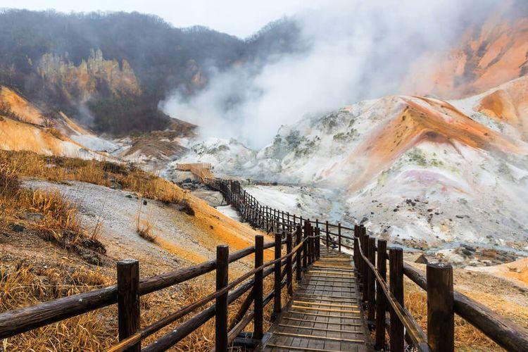 Jigokudani, Hokkaido.