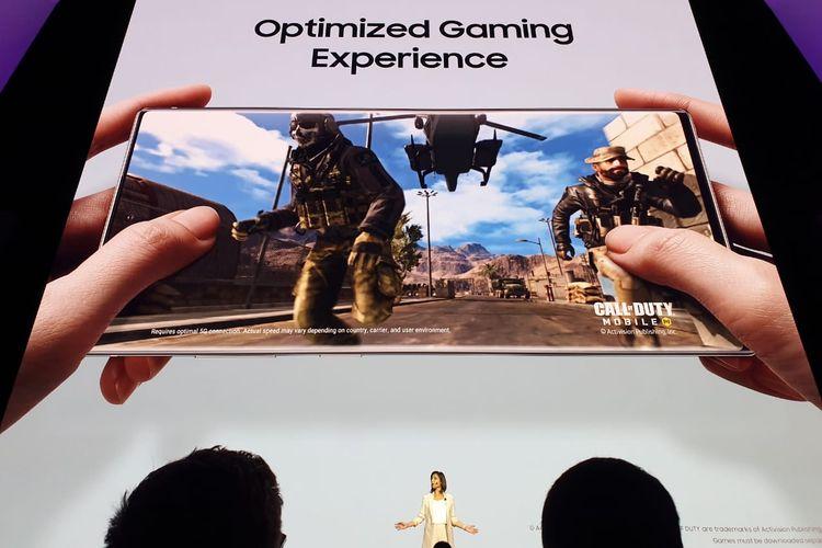 AI Game Booster di Samsung Galaxy Note 10 dan Note 10+