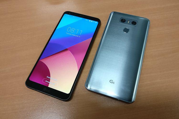 LG G6 tersedia dalam dua varian warna, hitam dan silver.