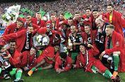 Robin van Persie Antarkan Feyenoord Juara Piala Belanda