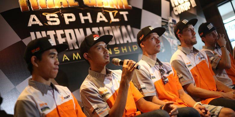 Pebalap nasional Dimas Ekky menyatakan, siap bertarung pada seri final Trial Game Asphalt di Kanjuruhan, Malang, 14-15 Desember 2018.