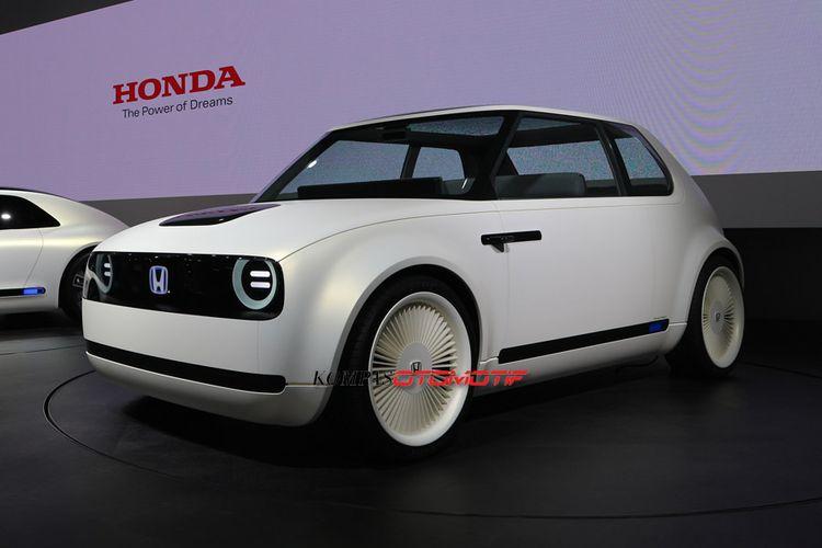 Honda Urban EV Concept di Tokyo Motor Show 2017