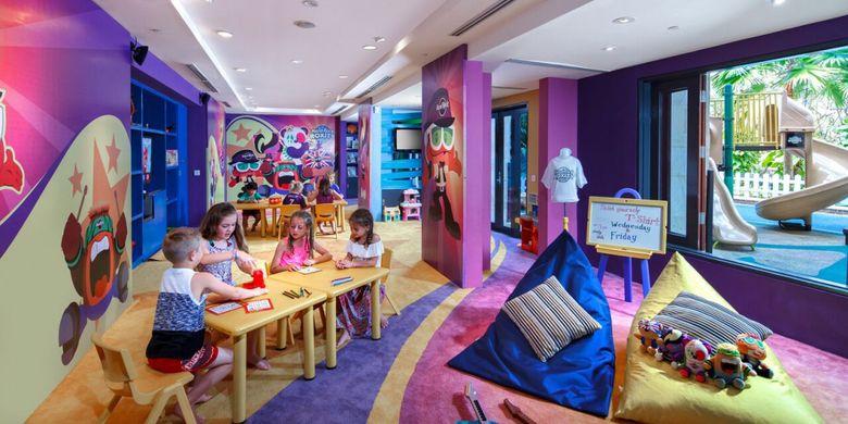 Roxity Kids Club untuk anak berusia 4-12 tahun.