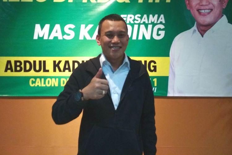 Ketua TKN Jokowi-Maruf Amin, Abdul Kadir Karding, ditemui di Magelang, Senin (10/12/2018).