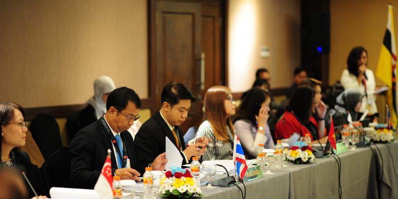 Suasana The 20th Coordinating Board Meeting (CBM) Asean ? Jejaring Keselamatan dan Kesehatan Kerja atau Occupational Safety and Health Network (OSHNET).