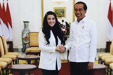 Fitri Carlina Rela Menahan Sakit demi Bertemu Presiden Jokowi