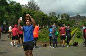 Medali Borobudur Marathon 2018 Jadi Favorit Swafoto Pelari