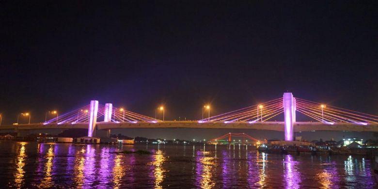 Jembatan Musi IV di Kota Palembang.