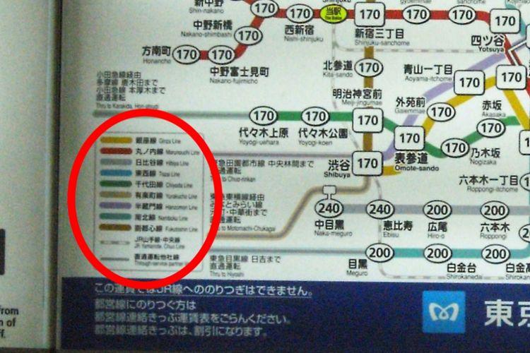 Cara Membaca Peta Rute Kereta