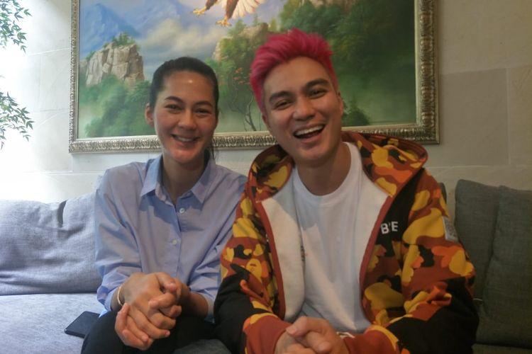 Baim Wong dan Paula daat ditemui di kediamannya, Rabu (7/8/2019)
