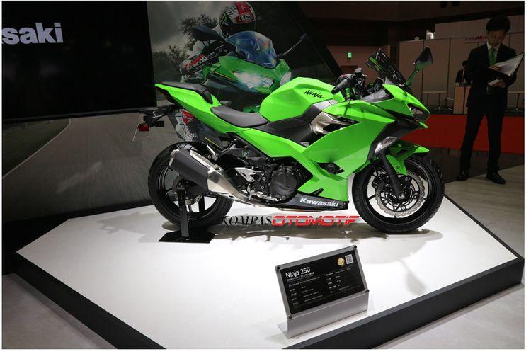 Kawasaki Ninja 250 Generasi Terbaru Meluncur di Tokyo Motor Show 2017