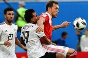 Rusia dan Mesir Bermain Imbang pada Babak Pertama