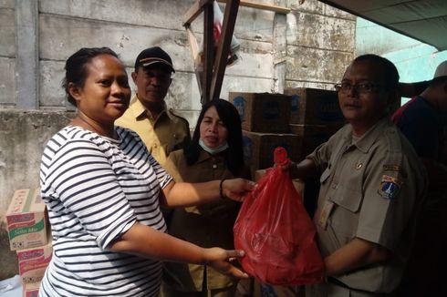 Korban Kebakaran Menteng Atas Dapat Bantuan Pakaian dan Tenda