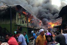 Tiga Mess PT Korindo Pangkalan Bun Terbakar