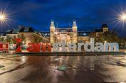 Hindari Pariwisata Massal, Papan 'I amsterdam' Dicopot
