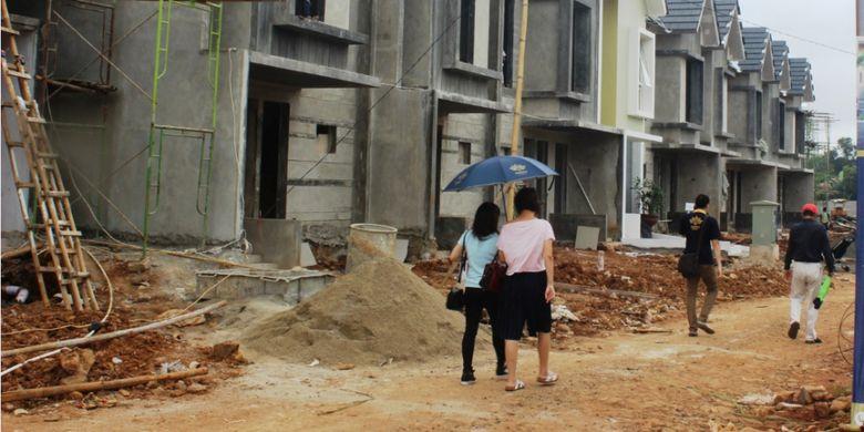 Serpong Bangun Cipta sempat menunda penjualan karena fokus menyelesaikan jalan sementara sebagai akses menuju kawasan perumahan.
