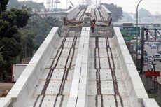 Pengerjaan LRT Jabodebek Capai 36,3 Persen