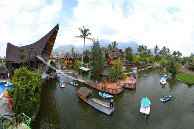 Danau Dariza, Garut, Jawa Barat.