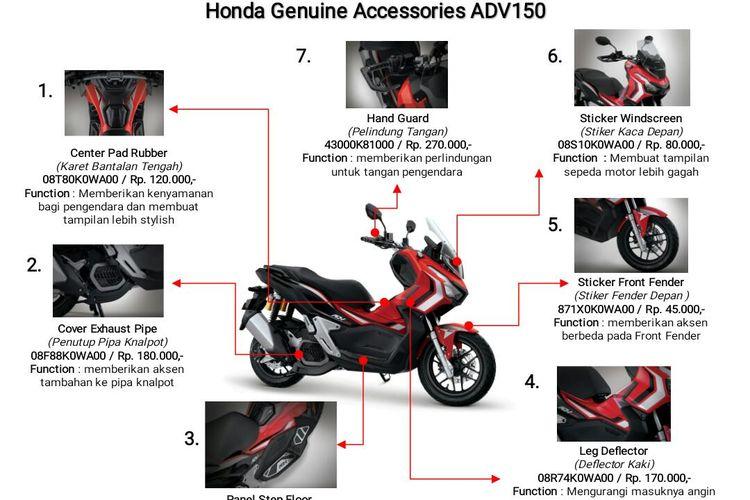 Honda ADV150.