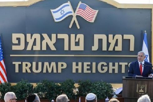 PM Israel Namai Permukiman Golan sebagai