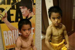 Idolakan Bruce Lee, Bocah 8 Tahun Ini Berlatih 4 Jam Setiap Hari