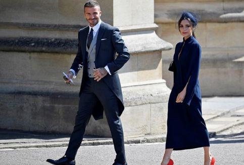 Hadiri Royal Wedding Pangeran Harry, Beckham Pun Curi Perhatian