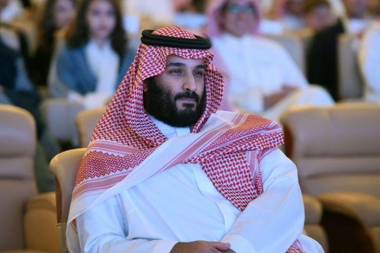 Putra mahkota Kerajaan Arab Saudi, Pangeran Mohammed bin Salman.
