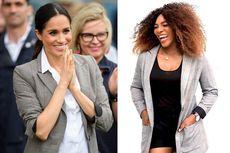 Meghan Markle Dukung Bisnis Busana Sahabat, Serena Williams
