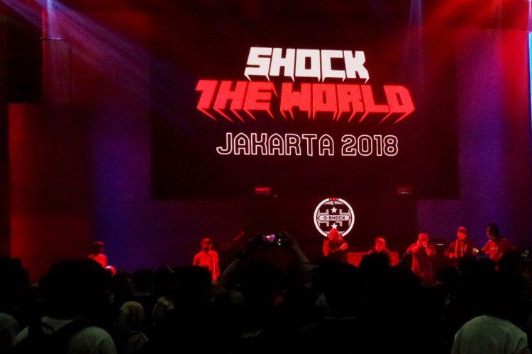 Perayaan ulang tahun ke-35 G-SHOCK di Allianz Ecopark, Ancol, Jakarta Utara, Sabtu (8/12/2018).
