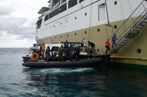 Kandas di Natuna, KM Bukit Raya Mulai Digenangi Air Laut