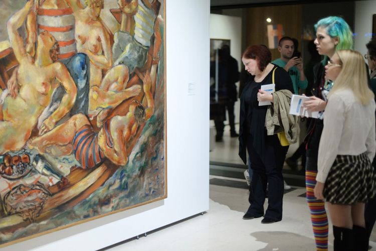 Museum of Contemporary Art Belgrade, Serbia.