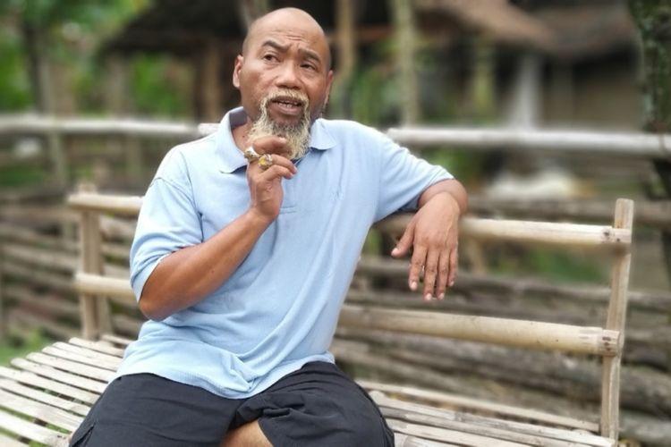Inilah Ahmad Sukoco yang sekarang tenar dipanggil Pak Ndul saat ditemui di kediamannya, Jumat ( 15/3/2019) lalu.