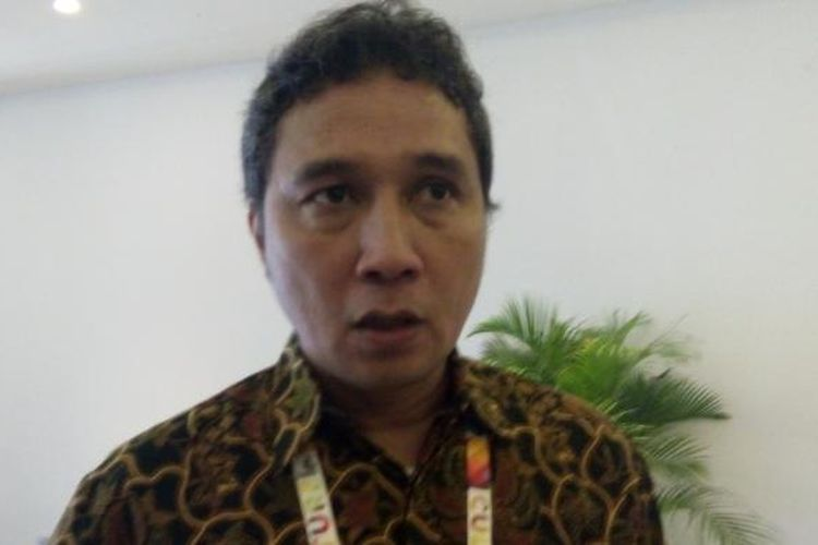 Hilmar Farid, Dirjen Kebudayaan Kementerian Pendidikan dan Kebudayaan Republik Indonesia, di sela-sela acara WFC 2016, Nusa Dua, Bali, Selasa (11/10/2016).