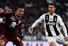 Juventus Vs Torino, Gol Sundulan Ronaldo Bikin Derbi Turin Seri