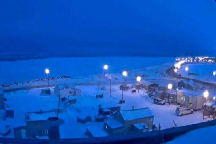 Kota Utqiagvik, Alaska, akan merasakan 65 hari diselimuti kegelapan. Matahari terakhir yang mereka lihat adalah kemarin Minggu (18/11/2018).