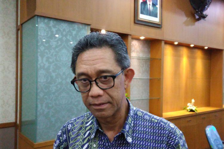 Direktur JenderalIndustri Logam Mesin Alat Transportasi dan Elektronika (ILMATE) I Gusti Putu Suryawirawan.