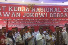 Relawan Jokowi Diberi Pembekalan Tangkis Isu Miring soal Ekonomi