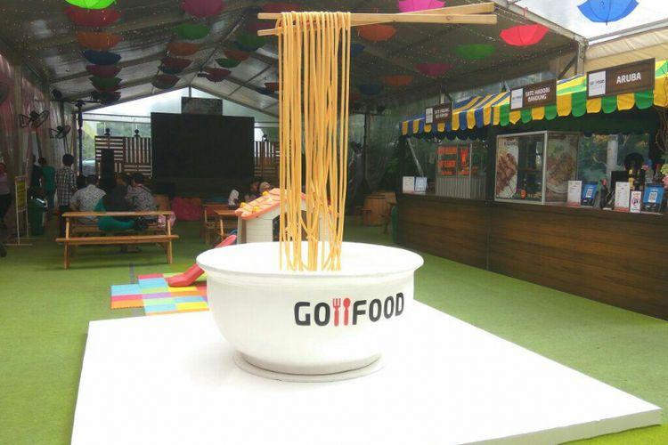 Go-Food Festival di Pasaraya Blok M.