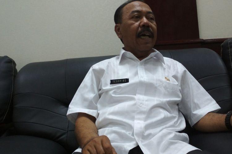 Sekda Kabupaten Karawang Teddy Rusfendy Sutisna.