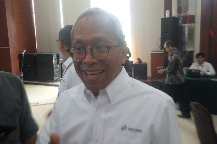 Direktur Hulu Pertamina Dharmawan H Samsu di kantornya, Jakarta, Kamis (17/1/2019).