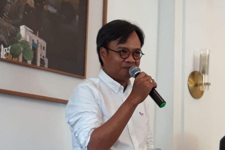 Direktur Utama AirAsia Indonesia Dendy Kurniawan di Jakarta, Senin (4/3/2019).