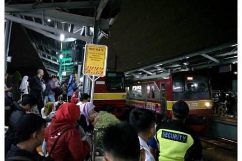 Kereta yang Alami Gangguan Dievakuasi, KRL Jakarta-Bogor Mulai Dijalankan