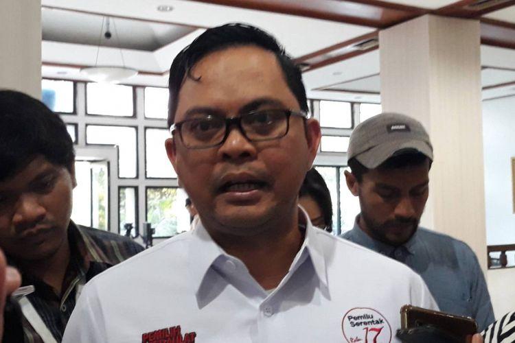Komisioner KPU Viryan Azis di kantor KPU, Menteng, Jakarta Pusat.