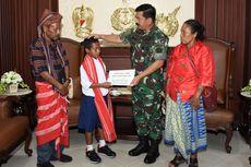 Panglima TNI Beri Joni Beasiswa hingga Lulus SMA