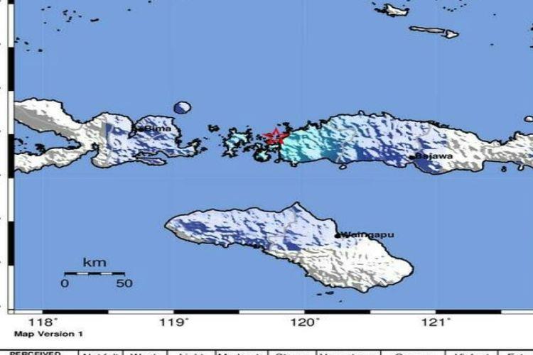Gempa guncang Kabupaten Manggarai Barat